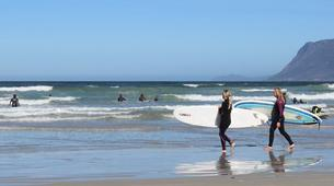 Surfing-Cape Town-Surfing lesson in Muizenberg Bay near Cape Town-7