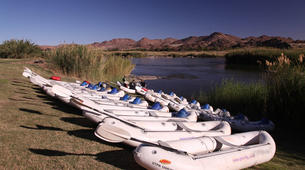 Kajak-Riemvasmaak Community Conservancy-Whitewater tour of the Orange River Gorge-2