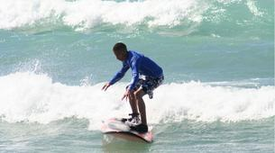 Surfing-Cape Town-Surfing lesson in Muizenberg Bay near Cape Town-1