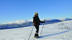 Snowshoeing-Tromsø-Arctic snowshoeing excursion in Tromsø-6