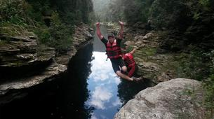 Canyoning-George-Cappuccino canyon in George, Western Cape-1