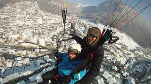 Paragliding-Morzine, Portes du Soleil-Tandem paragliding flight in Morzine - Avoriaz-3