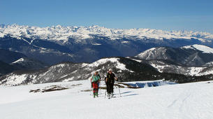Ski de Randonnée-Ariege-Journée Perfectionnement Ski de Randonnée dans les Pyrénées Ariégeoises-4