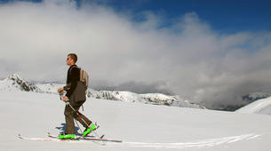 Ski touring-Ariege-Ski touring initiation in Ax-les-Thermes, Ariege-5