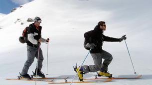 Ski touring-Ariege-Ski touring initiation in Ax-les-Thermes, Ariege-1