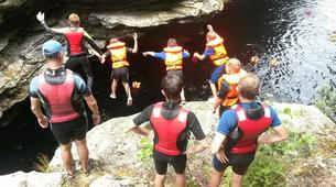 Canyoning-George-Cappuccino canyon in George, Western Cape-4