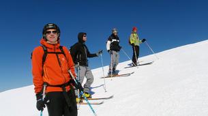 Ski de Randonnée-Ariege-Journée Perfectionnement Ski de Randonnée dans les Pyrénées Ariégeoises-2