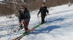 Ski touring-Ariege-Ski touring initiation in Ax-les-Thermes, Ariege-3