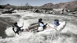 Kajak-Riemvasmaak Community Conservancy-Whitewater tour of the Orange River Gorge-1