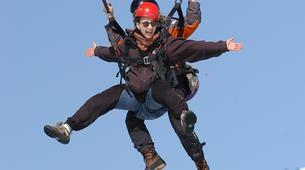 Paragliding-Morzine, Portes du Soleil-Tandem paragliding flight in Morzine - Avoriaz-12