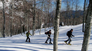 Ski touring-Ariege-Ski touring initiation in Ax-les-Thermes, Ariege-4