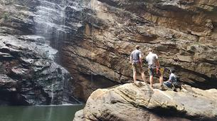 Abseilen-George-Abseiling down the Swart River Waterfall-5