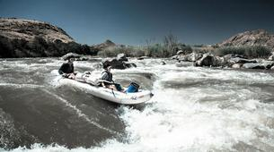 Kajak-Riemvasmaak Community Conservancy-Whitewater tour of the Orange River Gorge-5