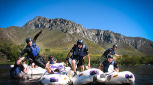 Rafting-Kogelberg Nature Reserve-Tubing excursion on Palmiet River-1