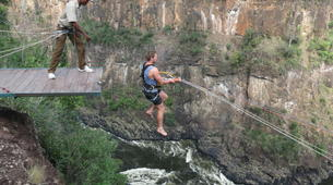 Bungee Jumping-Victoria Falls-High wire combo in Victoria Falls-3