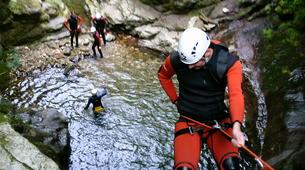 Canyoning-Cantabria-Canyoning at Yera Gorge in Vega de Pas, Cantabria-2