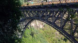 Zip-Lining-Victoria Falls-Bridge slide (Ziplining) along Victoria Falls Bridge-3
