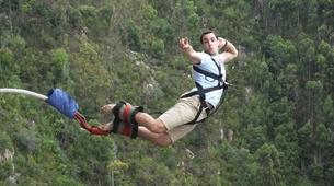 Bungee Jumping-Plettenberg Bay-World's highest bridge bungy, 216m from Bloukrans Bridge-10