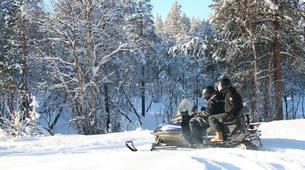 Snowmobiling-Hardangervidda National Park-Snowmobile excursion in Dagali, Geilo-1