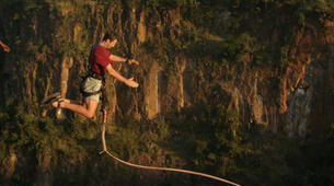 Bungee Jumping-Victoria Falls-Gorge swing in Victoria Falls-4