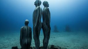 Plongée sous-marine-Puerto del Carmen, Lanzarote-Baptême de Plongée au Musée Atlantique Sous-Marin de Lanzarote-2