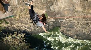Saut à l'élastique-Victoria Falls-Bridge swing from 80 metres from Victoria Falls Bridge-1