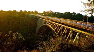 Saut à l'élastique-Victoria Falls-Bridge swing from 80 metres from Victoria Falls Bridge-2
