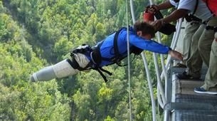 Bungeejumping-Plettenberg Bay-World's highest bridge bungy, 216m from Bloukrans Bridge-8