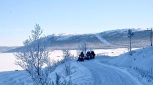 Snowmobiling-Hardangervidda National Park-Snowmobile excursion in Dagali, Geilo-3