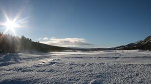 Snowmobiling-Hardangervidda National Park-Snowmobile excursion in Dagali, Geilo-2
