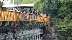 Saut à l'élastique-Victoria Falls-Bridge swing from 80 metres from Victoria Falls Bridge-3