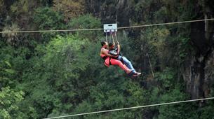 Zip-Lining-Victoria Falls-Bridge slide (Ziplining) along Victoria Falls Bridge-2