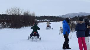 Snowmobiling-Hardangervidda National Park-Snowmobile excursion in Dagali, Geilo-5