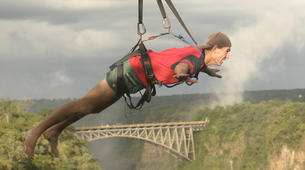Bungee Jumping-Victoria Falls-High wire combo in Victoria Falls-1