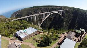 Bungeejumping-Plettenberg Bay-World's highest bridge bungy, 216m from Bloukrans Bridge-7