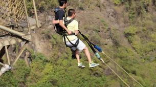 Bungee Jumping-Victoria Falls-Bridge swing from 80 metres from Victoria Falls Bridge-5