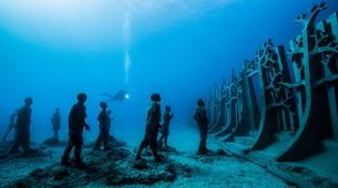 Plongée sous-marine-Puerto del Carmen, Lanzarote-Baptême de Plongée au Musée Atlantique Sous-Marin de Lanzarote-5