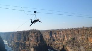 Tyrolienne-Victoria Falls-Flying fox zipline in Victoria Falls-1