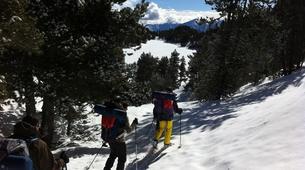 Raquette à Neige-Pyrénées Orientales-Raquettes à Neige et Nuit en Igloo à Mont Louis, près de Font-Romeu-1