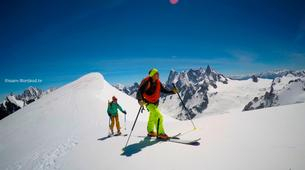 Backcountry Skiing-Chamonix Mont-Blanc-Backcountry skiing initiation at Vallée Blanche-6