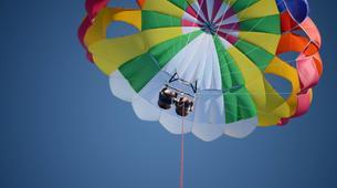 Parasailing-Santorini-Parasailing flight in Santorini-1