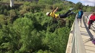 Bungee Jumping-Barcelona-Bridge Swinging in Sant Sadurní d'Anoia near Barcelona-4