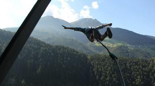 Bungeejumping-Innsbruck-Bungee Jumping von der Europabrücke (192 Meter) bei Innsbruck-2