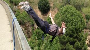 Bungee Jumping-Barcelona-Bridge Swinging in Sant Sadurní d'Anoia near Barcelona-6