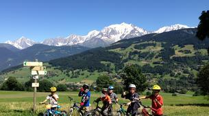 VTT-Megève, Evasion Mont Blanc-Cours de VTT à Megève-3