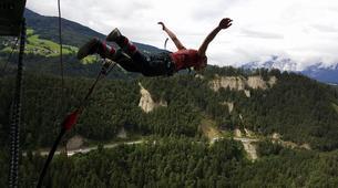 Bungeejumping-Innsbruck-Bungee Jumping von der Europabrücke (192 Meter) bei Innsbruck-4