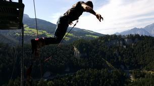 Bungeejumping-Innsbruck-Bungee Jumping von der Europabrücke (192 Meter) bei Innsbruck-6