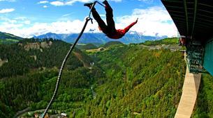 Bungeejumping-Innsbruck-Bungee Jumping von der Europabrücke (192 Meter) bei Innsbruck-1
