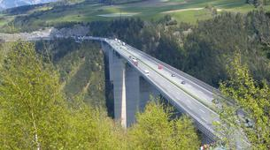 Bungeejumping-Innsbruck-Bungee Jumping von der Europabrücke (192 Meter) bei Innsbruck-5