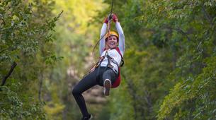 Zip-Lining-Omis-Ziplining over Cetina River, Omis-6